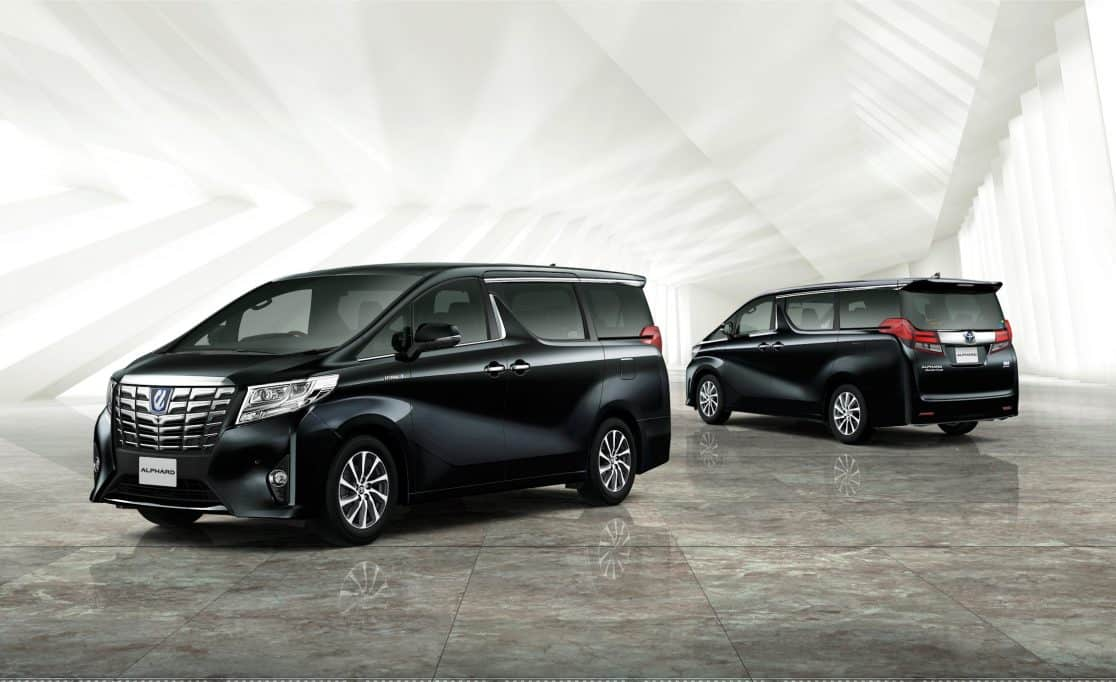 6 Seater Toyota Alphard For Hire Singapore